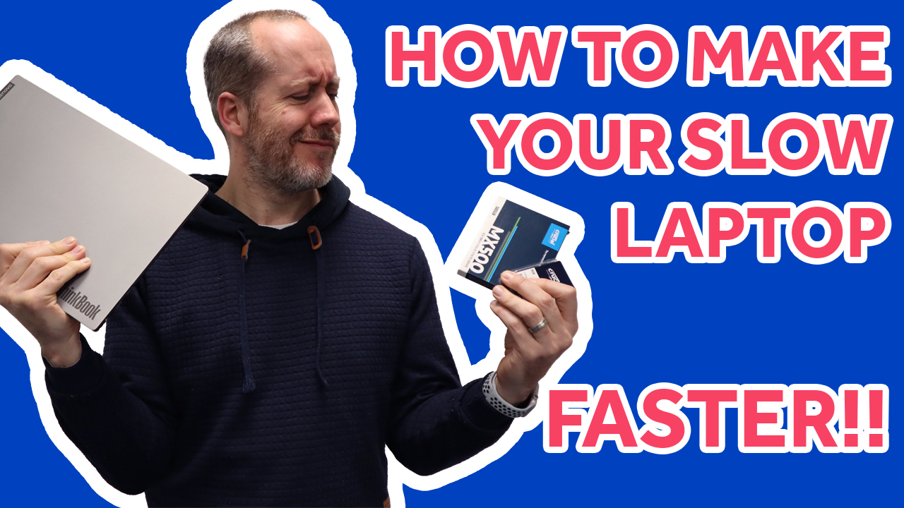 How to make your slow laptop faster