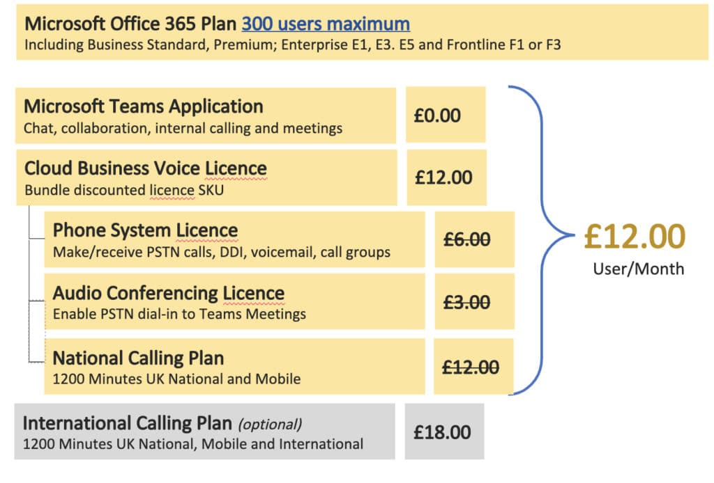 Microsoft Office 365 Prices 300 users